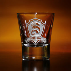 Etched Custom Shot Glasses, Engraved Personalized Gift Ideas for Men