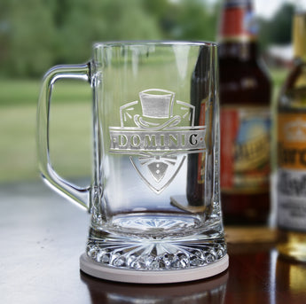 Groomsman Gift Ideas, Engraved Beer Mugs
