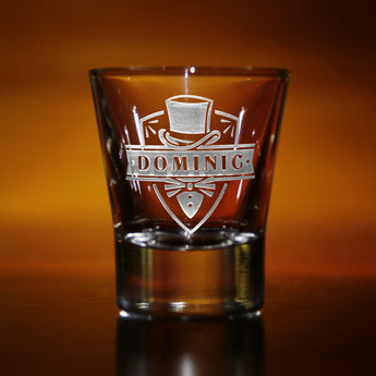 Engraved Groomsmen Shot Glasses, Personalized Gifts