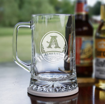 Engraved groomsmen gift ideas, beer mug