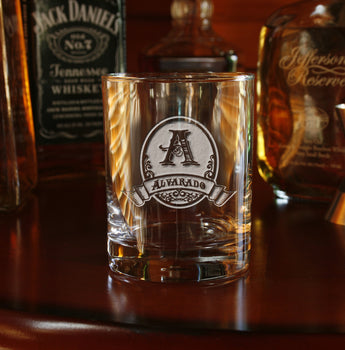 Engraved groomsmen gift ideas, rocks glasses