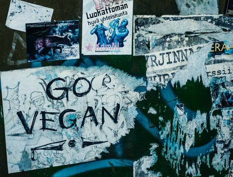 go vegan veganism plant based end of meat