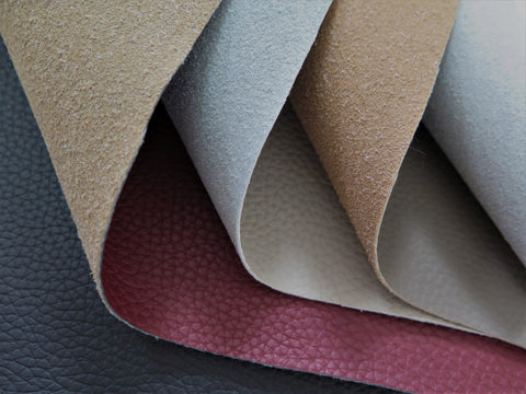 Punto Belle genuine recycled eco-leather fabric scraps