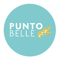 Punto Belle leather and vegan leather accessories logo