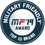 Military Friendly Brand Award Plaque