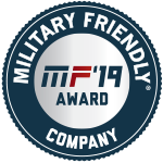 Military Friendly Company Award Plaque