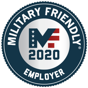 Military Friendly Employer Award Plaque