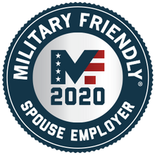 Military Friendly Spouse Employer Award Plaque