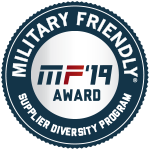 Military Friendly Supplier Diversity Award Plaque