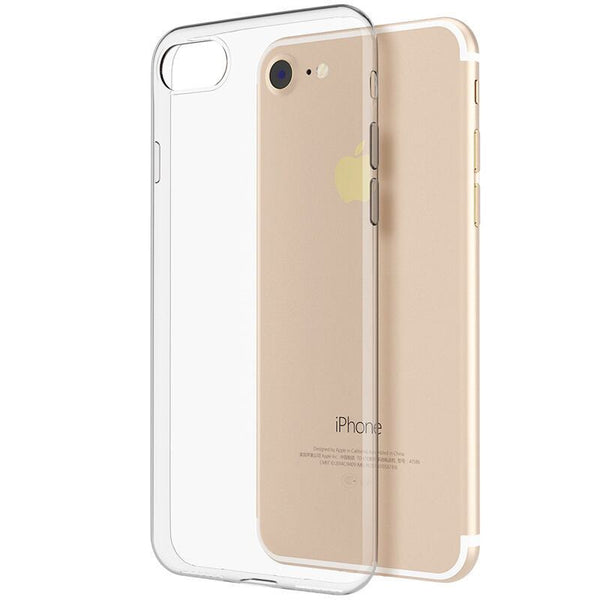 HD Clear Crystal Soft TPU Rubber Shockproof Ultra Thin Silicone Phone Cover Case For IPhone 6 7 6S Plus 5 5s SE