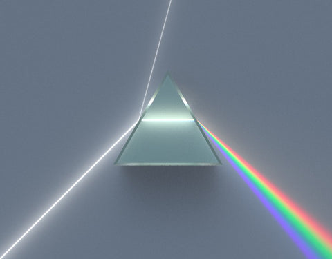 white-light-Dispersive-Prism