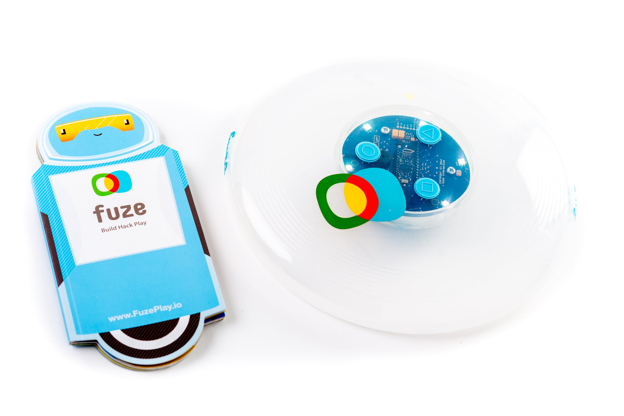 Zubi Flyer Hackable Frisbee FuzePlay