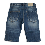 Regular denim shorts