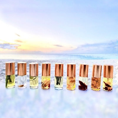 New! 9-Pack Mini Perfumes Collection. 100% Natural Roll Ons - Sweetwater Labs
