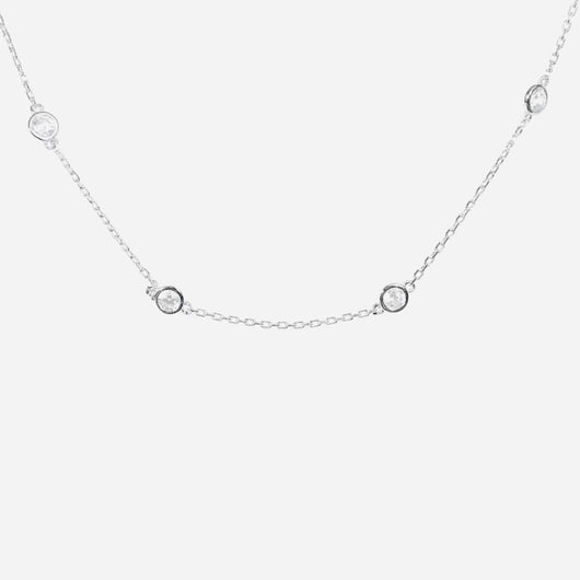 Crystal Choker Necklace (sterling silver or 16K gold) - Sweetwater Labs