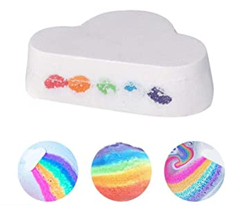 New! Moisturizing Rainbow Bath Bomb! 2 pack - Sweetwater Labs