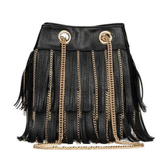 Cute Fringed Leather Bag