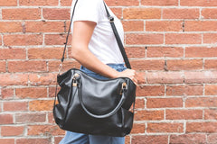 Black bags and totes for you on Lila's Beauty bag