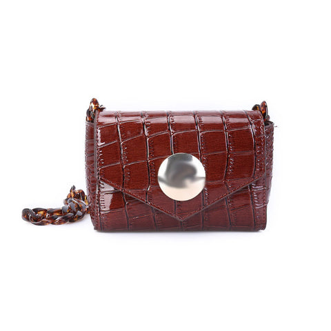 Crocodile Design Chic Belt Bag