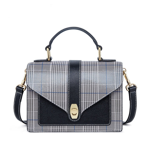 Top Classic Plaid Pattern Tote,  bag, [product_collection], Lila's Beauty Bag