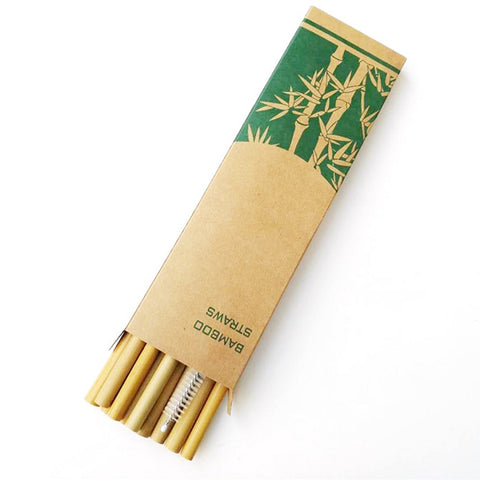 Lila's Beauty BagBiodegradable Natural Bamboo Drinking StrawsGreener${product_tags}