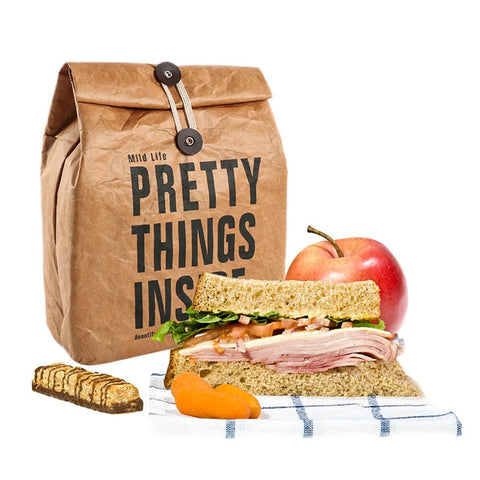 Reusable Paper Lunch Bag