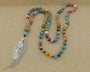 Multicolor Pendant Mala,  Mala, [product_collection], Lila's Beauty Bag