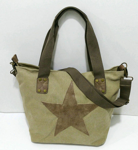 Big Star Studded Tote,  bag, [product_collection], Lila's Beauty Bag