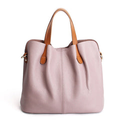 Genuine Leather Casual Tote,  bag, [product_collection], Lila's Beauty Bag