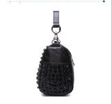 Genuine Sheepskin Studded Bag,  bag, [product_collection], Lila's Beauty Bag