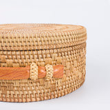 Bohemian Bali Rattan Circle Bag,  bag, [product_collection], Lila's Beauty Bag