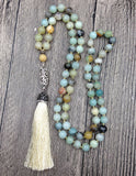 Wolf Tooth Tassel Pendant  Necklace,  Boho, [product_collection], Lila's Beauty Bag