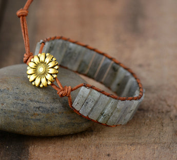 Light Labradorite Boho Bracelet,  Boho, [product_collection], Lila's Beauty Bag