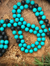 Lila's Beauty BagTurquoises and Lava Stone MalaMala${product_tags}