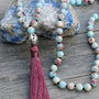 Fine Beads Antique Tassel Mala,  Mala, [product_collection], Lila's Beauty Bag