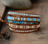Vintage Mix Stone and Crystal Wrap,  Boho, [product_collection], Lila's Beauty Bag
