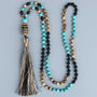 Lila's Beauty BagNew Bead Black Onyx NecklaceMala${product_tags}