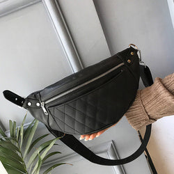 Classic Pu Leather Waist Pack,  bag, [product_collection], Lila's Beauty Bag