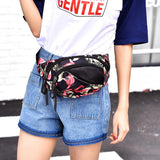 Flower Pattern Waist Pack,  bag, [product_collection], Lila's Beauty Bag