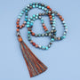 Six-word Rumors Mala Necklace,  Mala, [product_collection], Lila's Beauty Bag