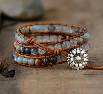 Multilayers Boho Leather Bracelet,  Boho, [product_collection], Lila's Beauty Bag