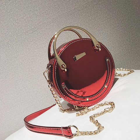 Hot Circular Mini Purse,  bag, [product_collection], Lila's Beauty Bag
