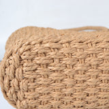 Simple Hollow Textured Straw Bag,  bag, [product_collection], Lila's Beauty Bag