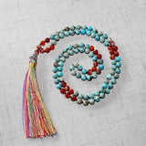 Hum Prayer Natural Stones Mala,  Mala, [product_collection], Lila's Beauty Bag