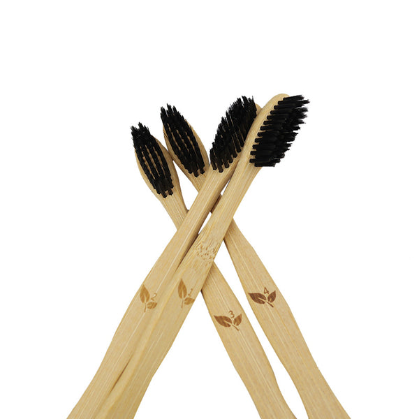Lila's Beauty BagCharcoal Bamboo Ecofriendly ToothbrushGreener${product_tags}