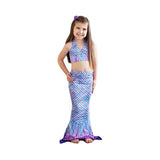 Aurora Borealis Toddler Mermaid Tail