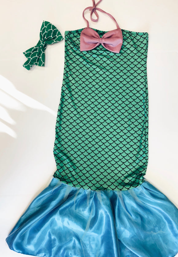 Children mermaid dress