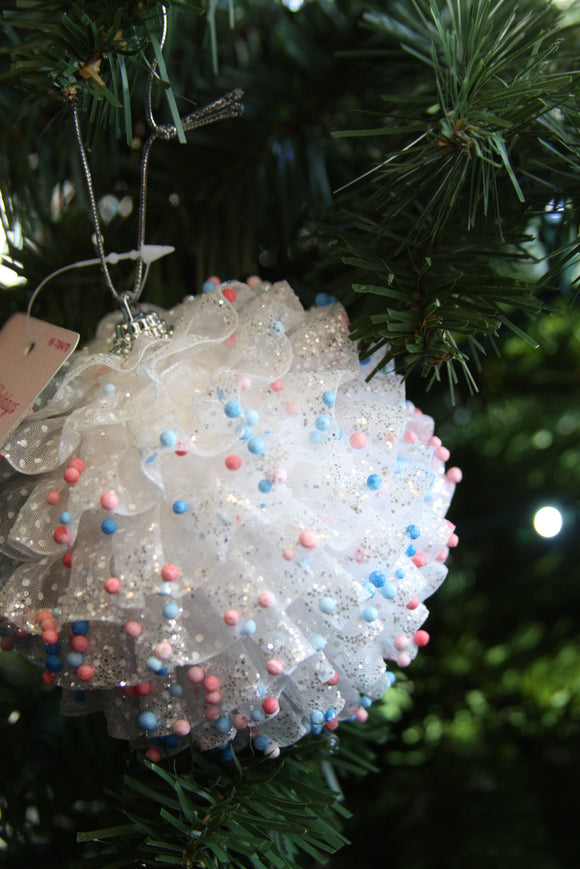 December diamonds tutu ornament