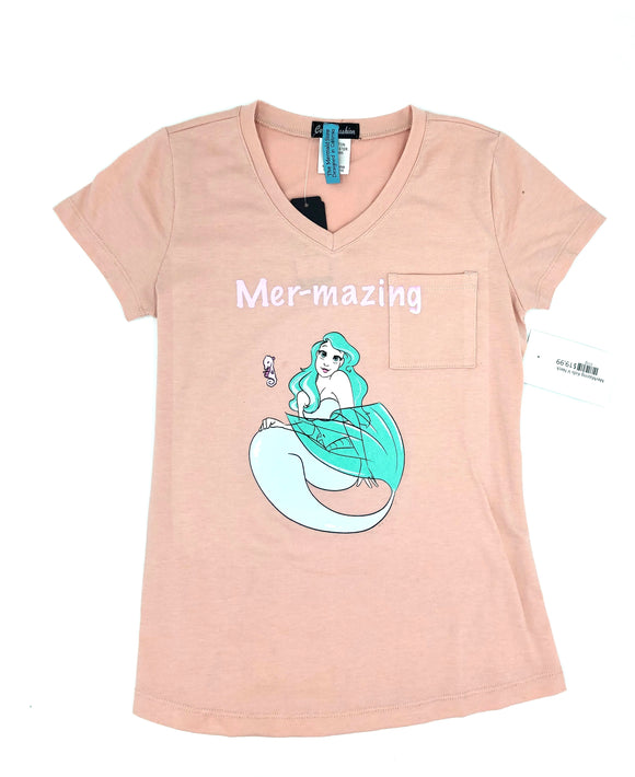 Mermazing kids v neck
