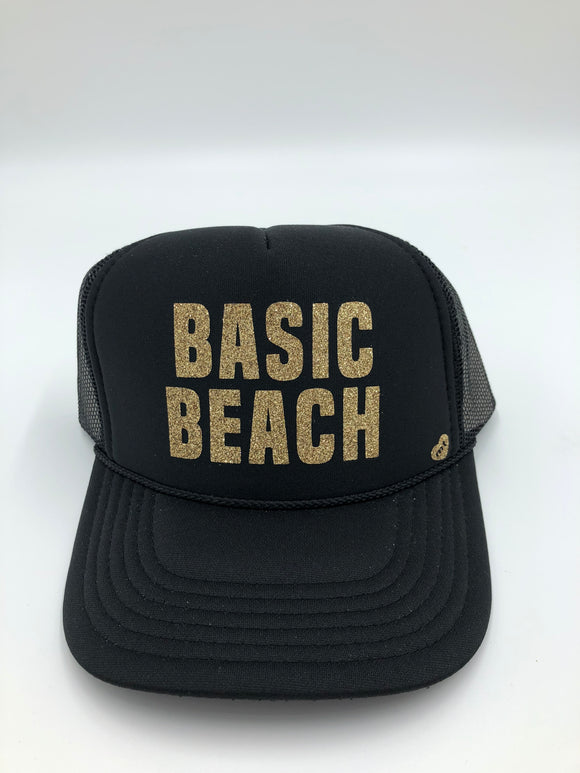 Basic beach mother trucker hat